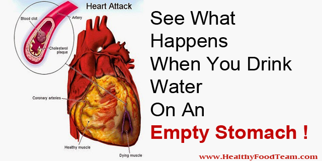 See What Happens When You Drink Water On An Empty Stomach1!