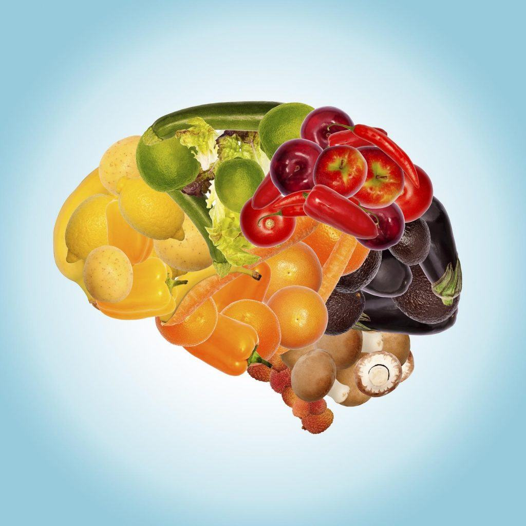 a healthy nutrition is good for brain