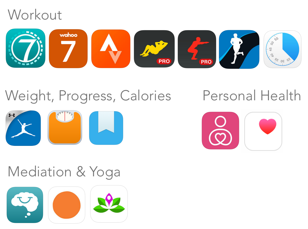 best iphone fitness apps 10 of the most innovative health fitness and happiness 13618